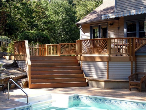 deck construction in Columbia SC