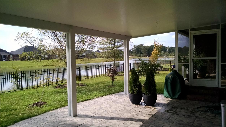 patio enclosure construction