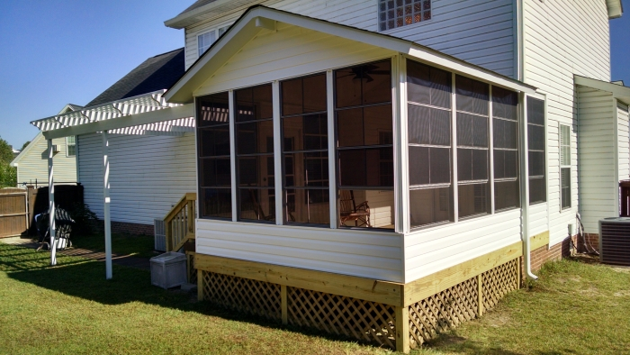 Sunroom Screened Porch Patio Enclosure In Irmo Sc