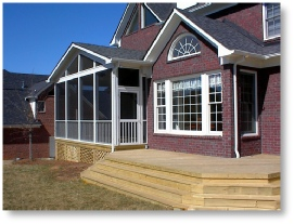 screen porch contractors Columbia SC